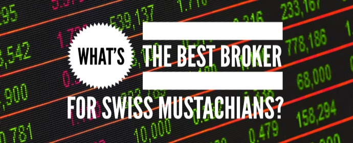 Best broker with cheapest fees for an ETF portfolio as a Swiss investor
